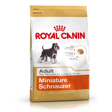 Royal Canin Miniature Schnauzer Food 3kg Petbarn