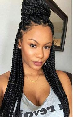 plaited hair styleson black hair 25 best ideas about box braids on pinterest box braid