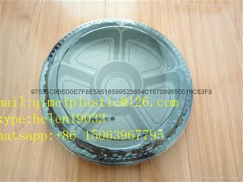Pet Tray Salad 300ml disposable salad plastic tray container container 4 qm china manufacturer label tag