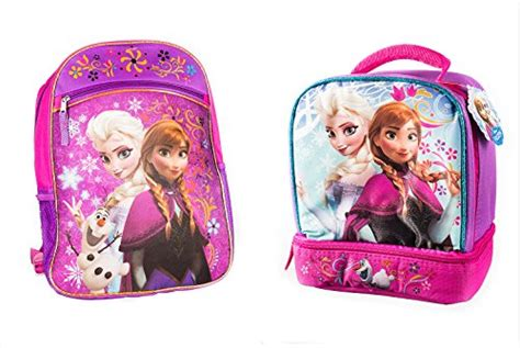 Disney Frozen Breakfast Set Pink disney frozen pink backpack princess elsa 16 with a