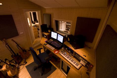 20 home recording studio photos from audio tech junkies