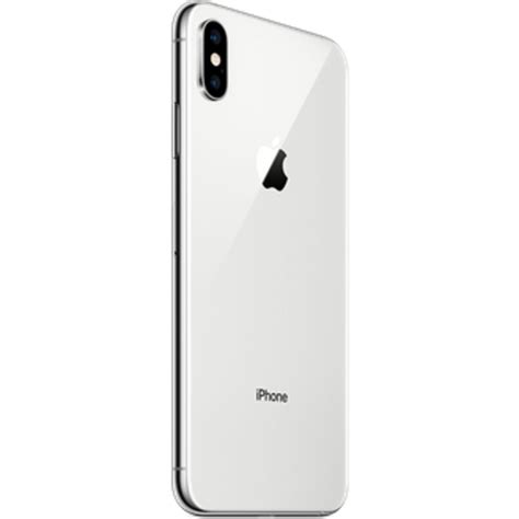 buy apple iphone xs max dual sim gb silver price