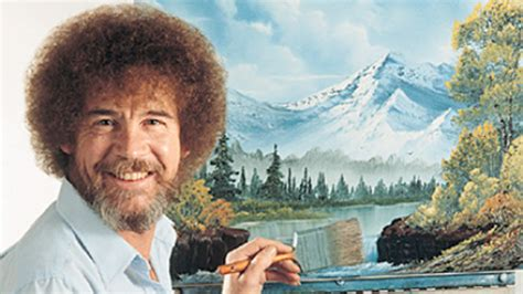 bob ross happy painter theexileskitchen not waiting for to begin i am