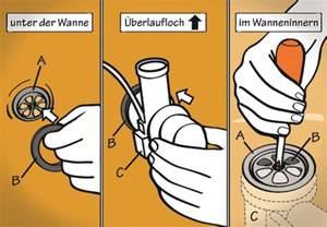 badewannen abfluss reinigen wasserabschluss montieren in 8 schritten obi ratgeber