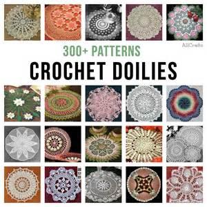 300 free crochet doily patterns allcrafts free crafts update