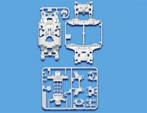 Ms Reinforced Chassis Set White95246 tamiya 95246 carbon reinforced ms chassis set white