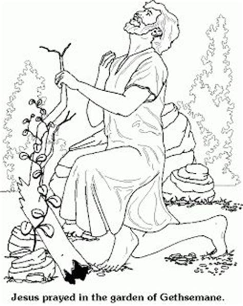 coloring pages jesus in the garden 114 best images about the agony in the garden of