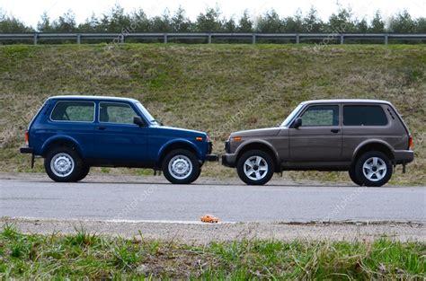 foto lada lada 4x4 and lada 4x4 stock editorial photo