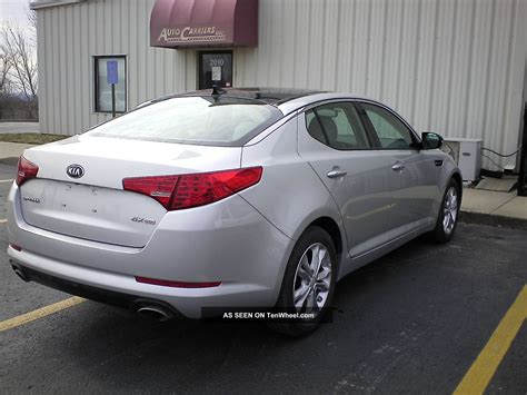 Kia Optima Ex 2013 2013 Kia Optima Ex Gdi Loaded Glass Roof All Options Available