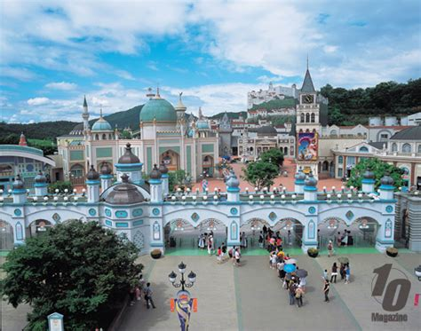theme park korea korea s biggest and best theme park everland is in