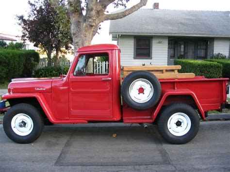 Jeep Truck 1960 1960 Willys Up Truck S
