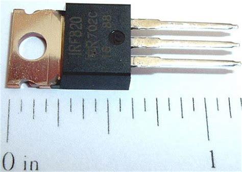 transistor fet npn irf820 mosfet mos fet transistor npn 50w 500v 2 5a west florida components