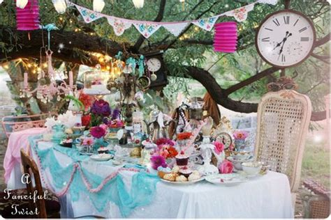 fanciful events summer themed parties a fanciful twist mad tea party 2012