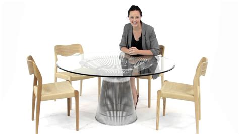 warren platner dining replica warren platner dining table from matt blatt youtube