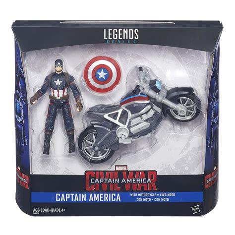 Hasbro Marvel Legends Civil War Series Falcon captain america civil war hasbro figurines revealed for black widow falcon