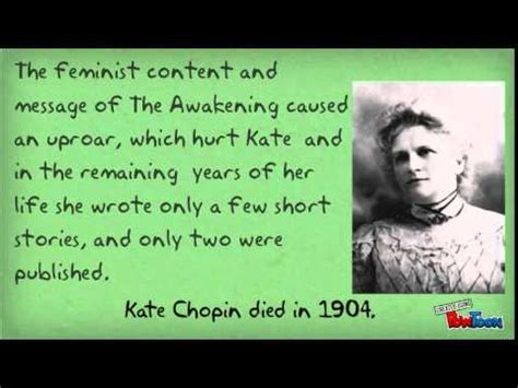 kate chopin biography youtube kate chopin and feminism a brief overview youtube