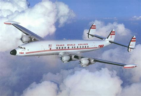 twa the most comfortable way to fly trans world airlines lockheed constellation super g