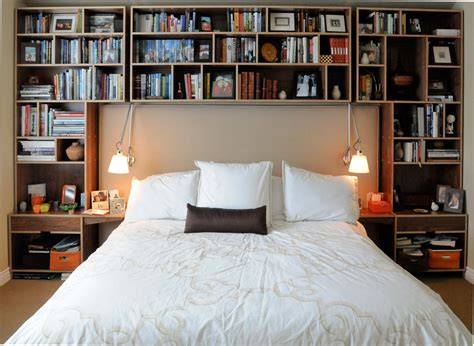 over the bed organizer bedrooms bookshelves 22 inspirational exles for those