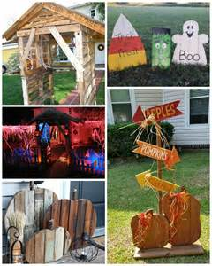 Easy Home Decor Projects best halloween wood pallet decorations crafty morning