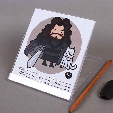 of thrones desk accessories of thrones inspired desk calendar 2016 gadgetsin