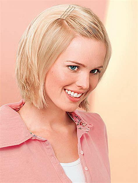 frisuren fuer feines glattes haar