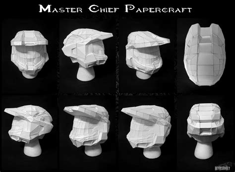 Master Chief Papercraft - master chief vi papercraft by heyasianhey on deviantart