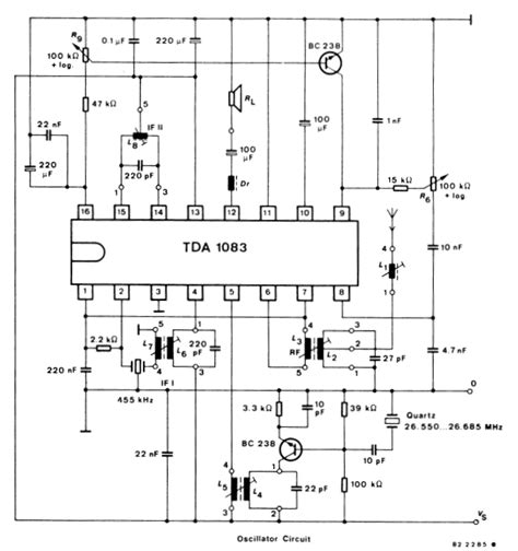 am radio integrated circuit one chip am fm radio with audio power lifier lifiercircuits