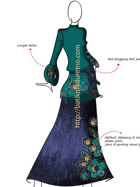 sketsa desain dress batik baju bolero auto design tech