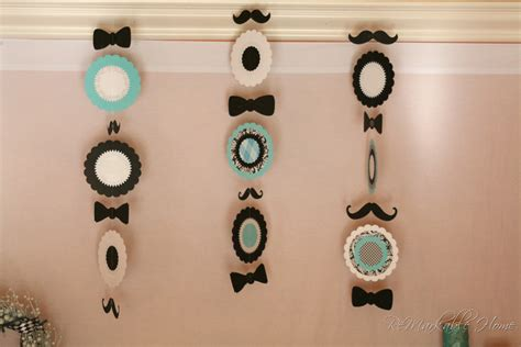 Mustache Decorations by Snob S Day Mustache Themed