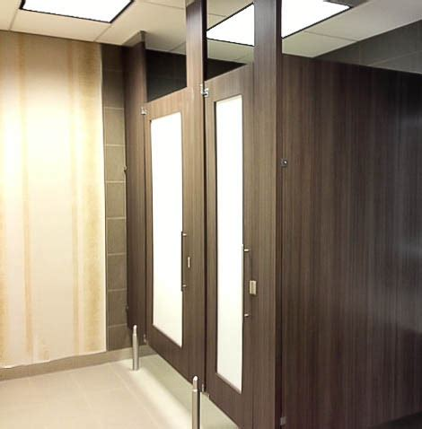 wood bathroom stalls ironwood manufacturing door lite restroom partition