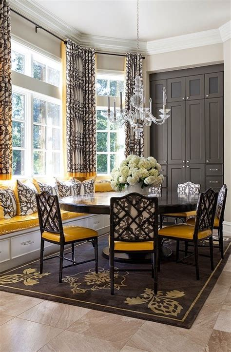 black  yellow interior designs  love