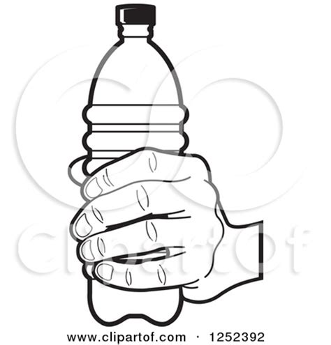 coloring page water bottle preview poster clipart panda free clipart images