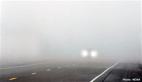 nws fog safety while driving page