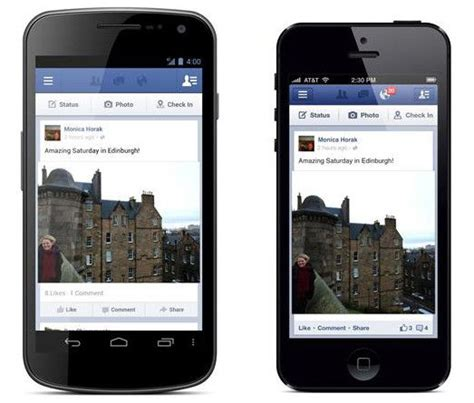 facebook mobile application cult of android facebook mobile app use sees huge