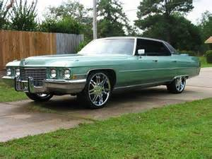 Donk Cadillac Donks Cadillac Impala Cars With Rims Custom Big