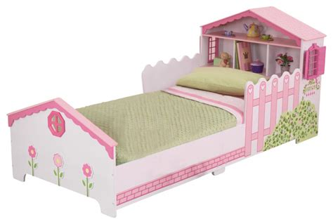 dollhouse toddler bed by kidkraft contemporary toddler