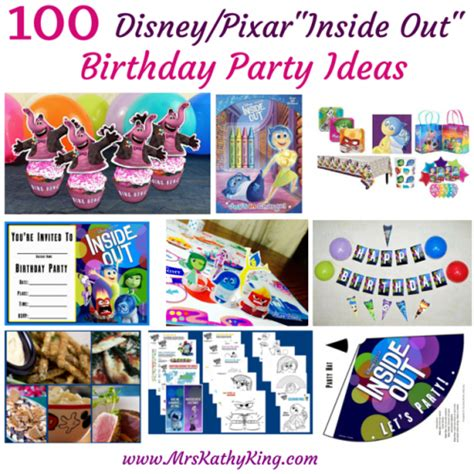 inside out printable party decorations 100 inside out birthday party ideas mrs kathy king