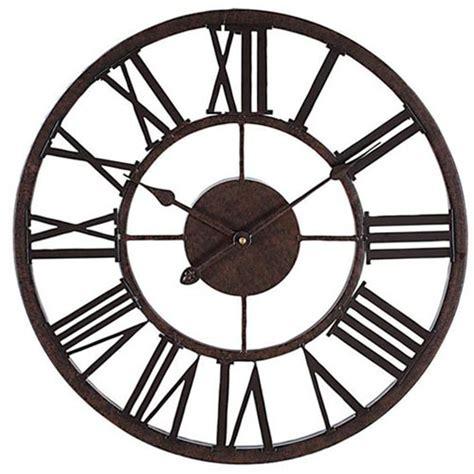 art wall clock metal art wall clock iyodd com with decorative 17 quot wall clock metal roman numeral wall