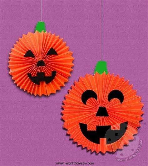decorare zucche di halloween decorazioni halloween zucche