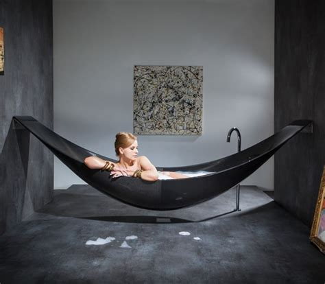 hammock bathtub hammock bathtub lets you soak and lounge at the same time