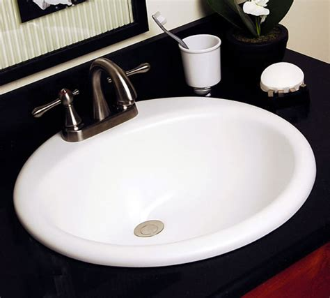 installing a drop in bathroom sink a drop in bathroom round sink that has diameter 17