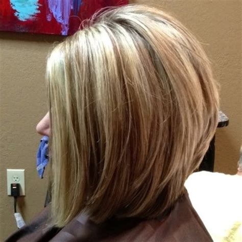 long layered stacked bob long stacked bob haircut pictures glamor haircuts