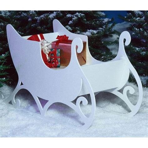 diy paper sleigh kids 40 festive diy outdoor decorations