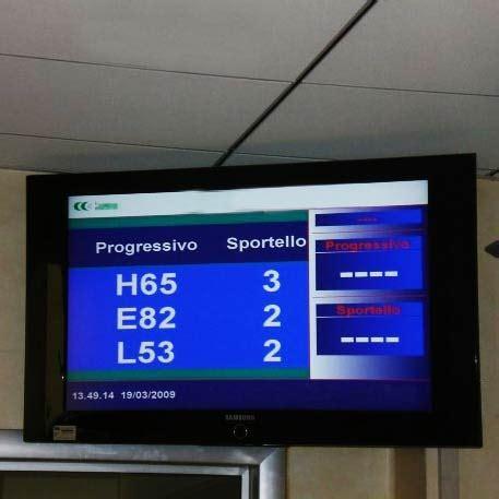 Monitor Di monitor di sala lcd cronotime