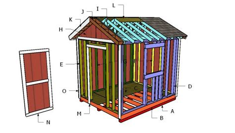 gable shed plans myoutdoorplans  woodworking
