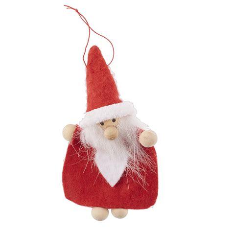 nordic mini santa christmas decoration by the christmas