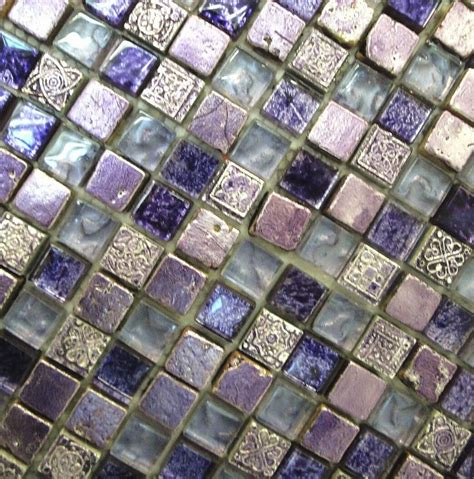 floor to ceiling purple mosaic bathroom tiles bathroom 17 best images about tile on pinterest ceramics mosaics