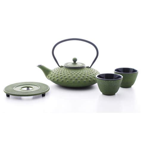 Green Tea Set by Buy Jing Cast Iron Green Tea Set Cup Of Tea Ltd