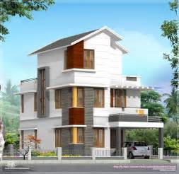 3 floor house plans 4 bedroom house plan in less than 3 cents kerala home