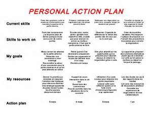 model personal action plan vf